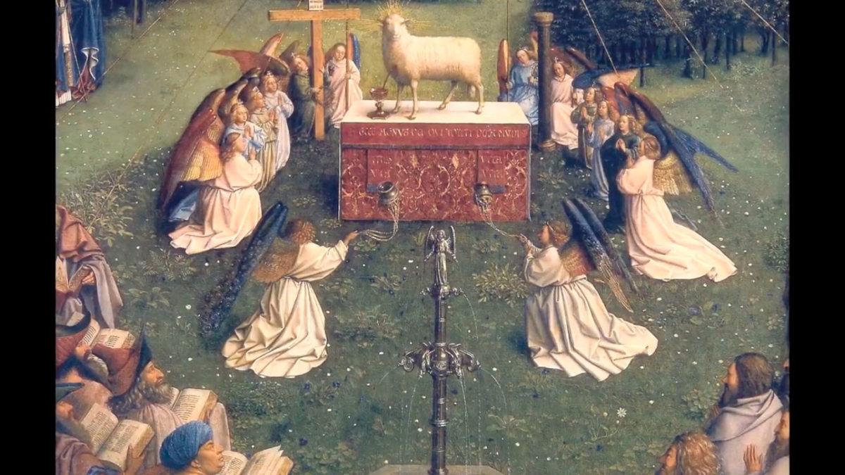 Lectura del santo evangelio según san Juan 1, 29-34