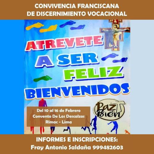 Convivencia Franciscana – Rímac 2020