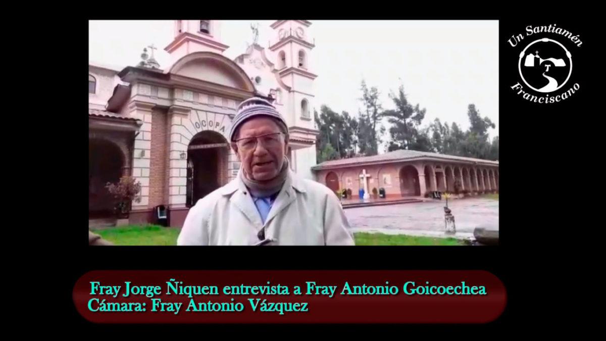 Mensaje de Fray Antonio Goicoechea, OFM