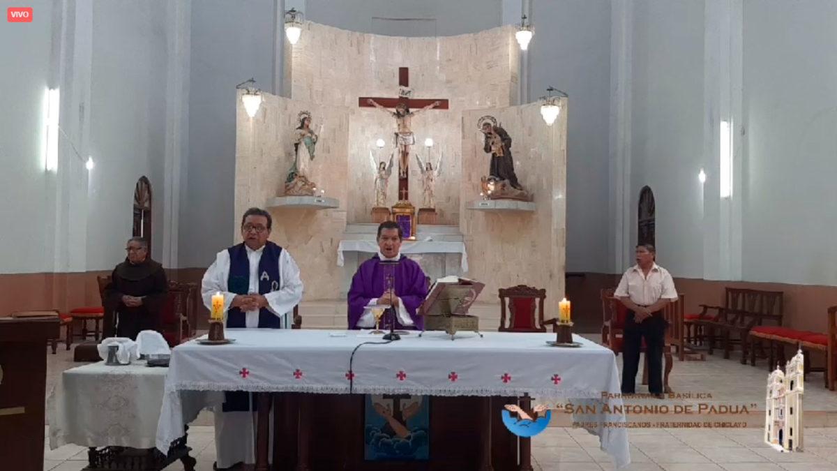 Misas Dominicales por Internet