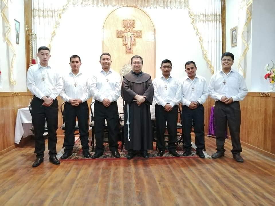 Saludos a nuestros nuevos hermanos postulantes