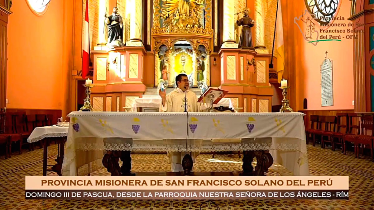 Santa Misa – III Domingo de Pascua – Rímac