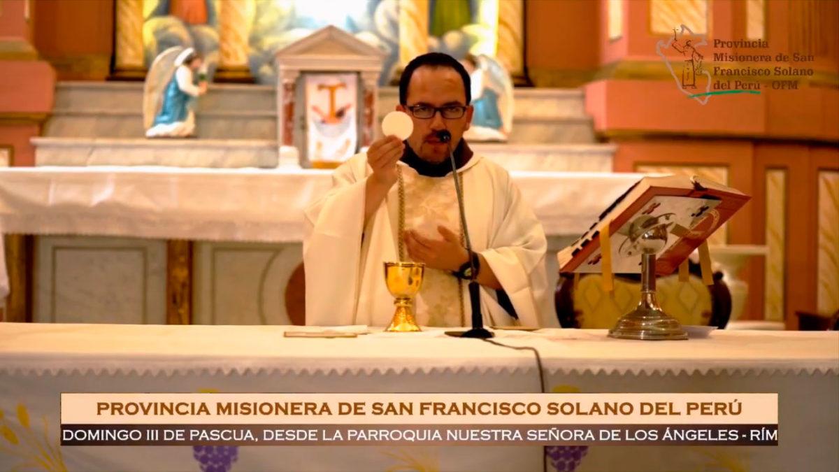 Santa Misa – III Domingo de Pascua – Convento de los Descalzos