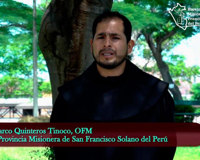 Mensaje de Fray Marco Quinteros, OFM – Semana Santa 2020