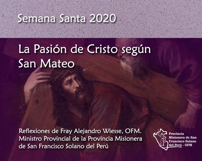 Estreno: La Pasión de Cristo según San Mateo