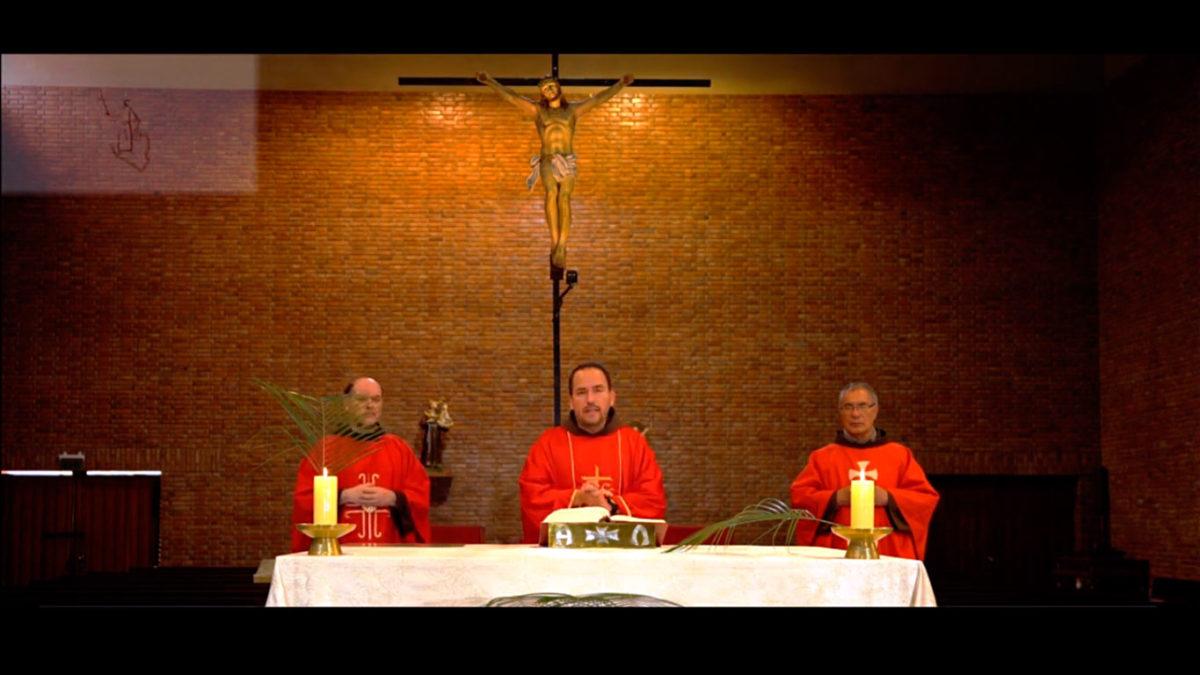 Bendición de los Ramos. Semana Santa 2020
