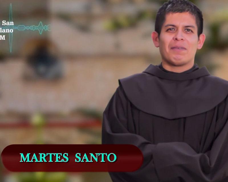 MARTES SANTO: Evangelio según san Juan 13, 21-33. 36-38