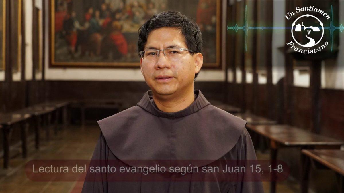 Evangelio según San Juan 15, 1-8
