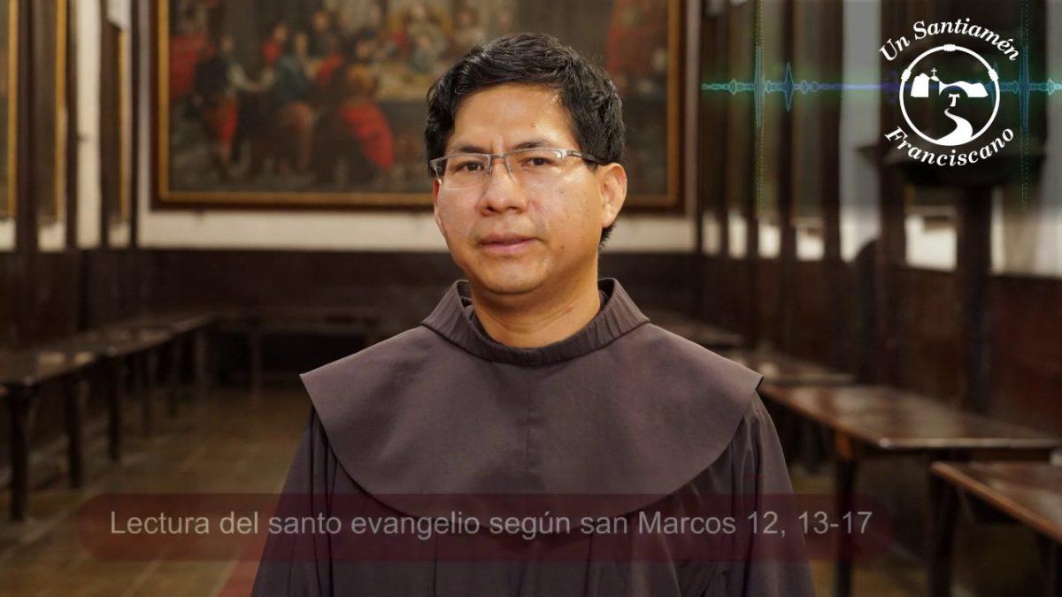 Evangelio según San Marcos 12, 13-17