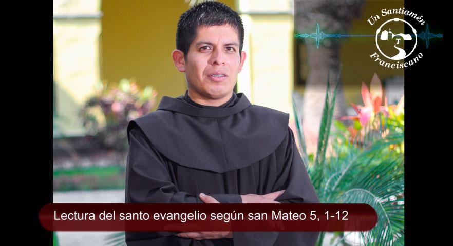 Santo evangelio según san Mateo 5,1-12