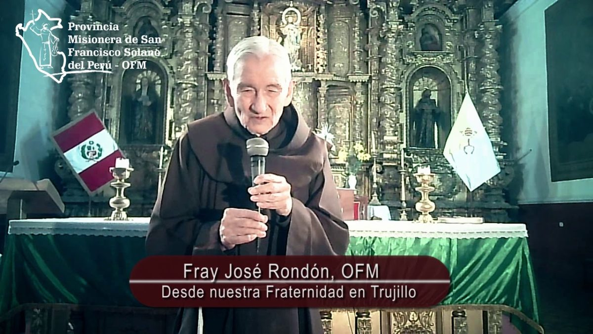 Saludo de nuestro hermano Fray José Rondón, OFM