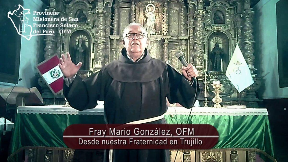 Saludo de nuestro hermano Fray Mario González, OFM