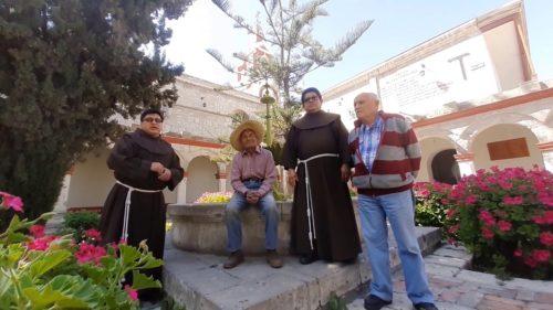 Desde el Convento de la Recoleta (Arequipa)