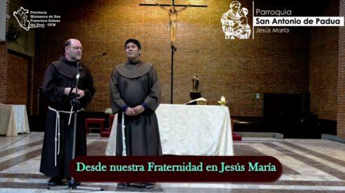 Desde el Convento San Antonio de Padua en Jesús María