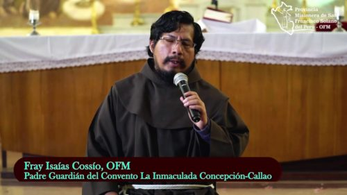 Saludo de nuestro hermano Fray Isaías Cossío, OFM
