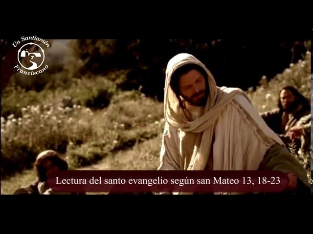 Santo evangelio según san Mateo 13, 18-23
