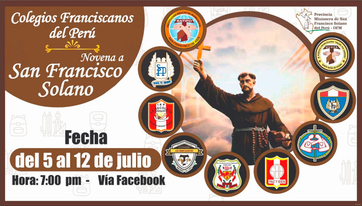 NOVENA EN HONOR A SAN FRANCISCO SOLANO
