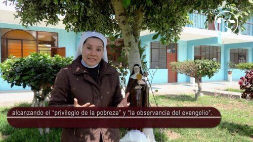 La Hna. Grace Karina del Pilar, FIC, nos habla de Santa Clara de Asís