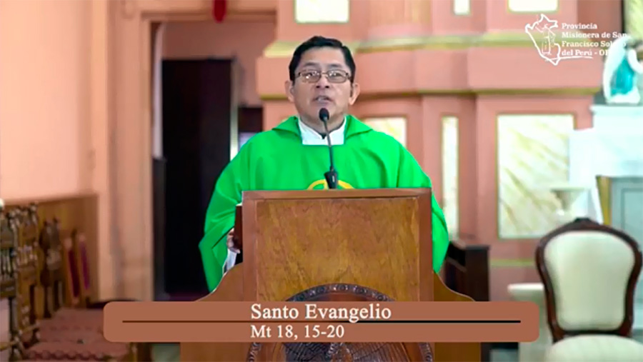 Santa Misa – Domingo XXIII del Tiempo Ordinario