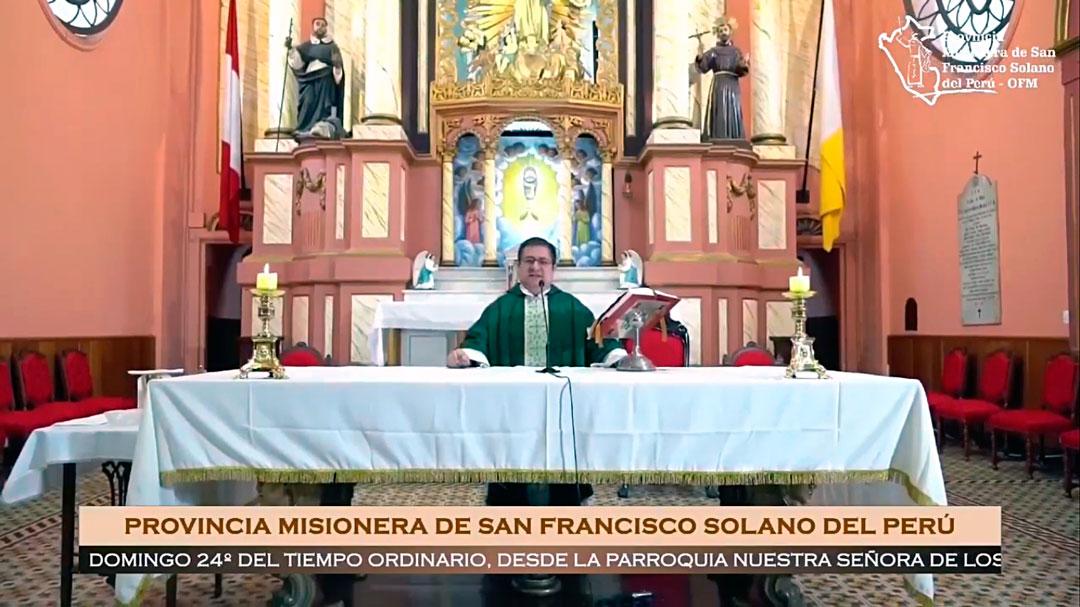 Santa Misa – Domingo XXIV del Tiempo Ordinario