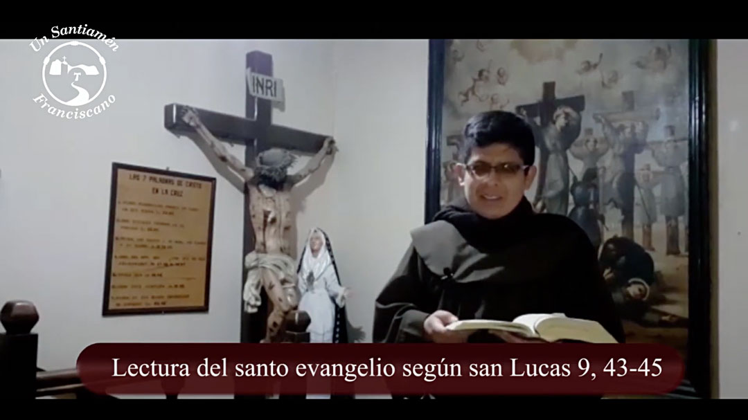 Evangelio según san Lucas 9, 43-45