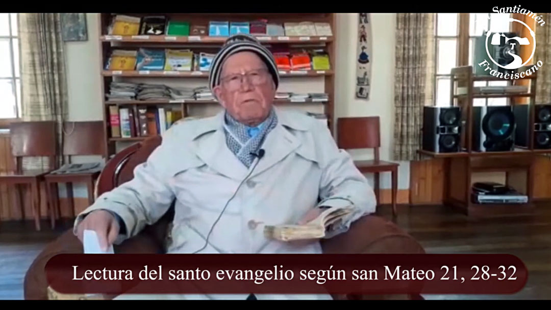 Evangelio según san Mateo 21, 28-32