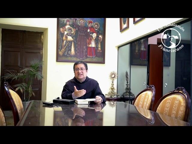 Saludo de nuestro Ministro Provincial, Fr. Alejandro Wiesse, OFM