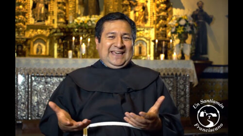 Feliz cumpleaños Fray Alejandro Wiesse, OFM.