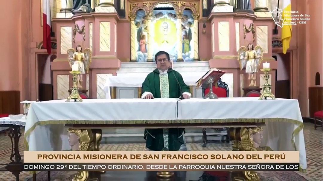 Santa Misa – Domingo XXIX del Tiempo Ordinario – 8am