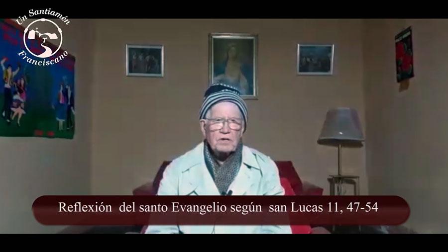 Evangelio según san Lucas 11, 47-54