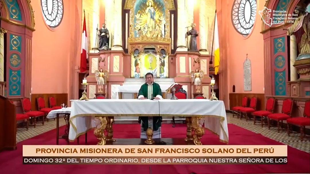 Santa Misa – Domingo XXXII del Tiempo Ordinario