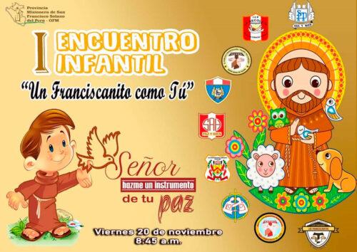 Primer Encuentro Infantil Franciscano