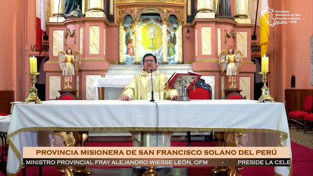 SANTA MISA – SOLEMNIDAD DE CRISTO REY