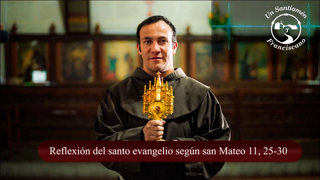 Evangelio según san Mateo 11, 25-30