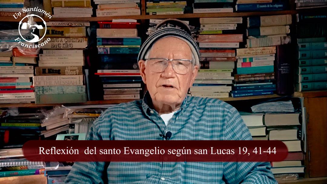 Evangelio según san Lucas 19, 41-44