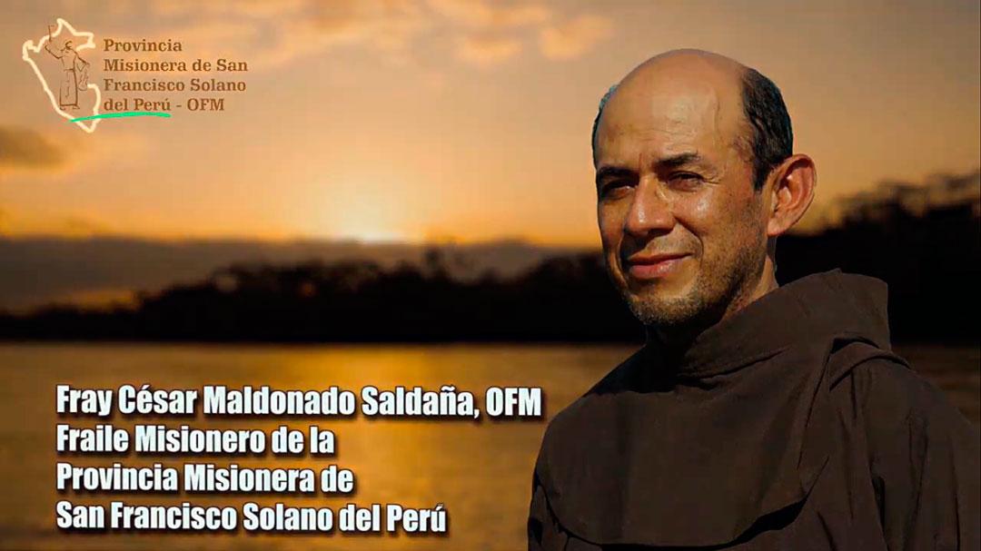 Conozcamos a Fray César Maldonado Saldaña, OFM