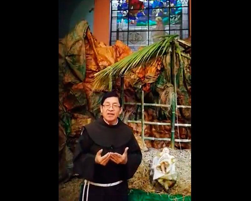 Feliz Navidad – Padre Fray Marcos Saravia, OFM