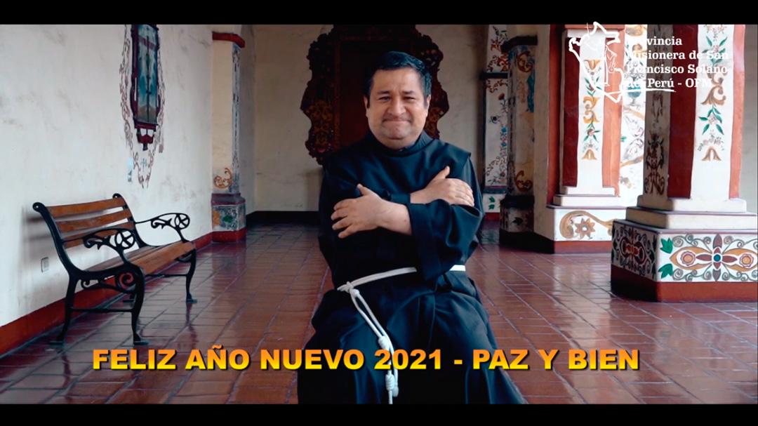 Saludo de Fray Alejandro Wiesse, OFM