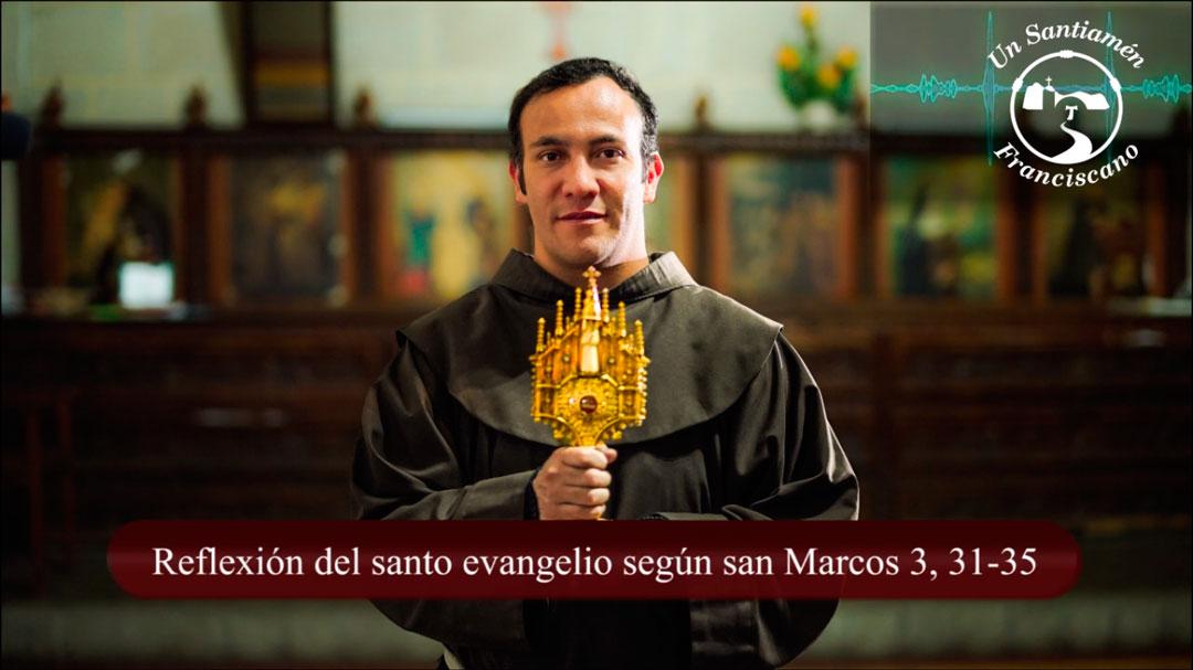 Evangelio según san Marcos 3, 31-35