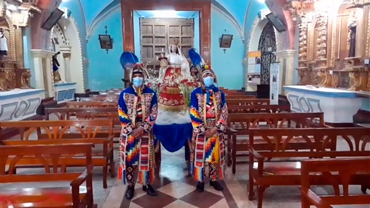 Ocopa: Homenaje a la Virgen de la Candelaria