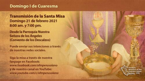 I Domingo de Cuaresma – Santa Eucaristía
