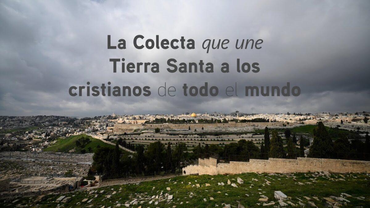 Colecta de Tierra Santa