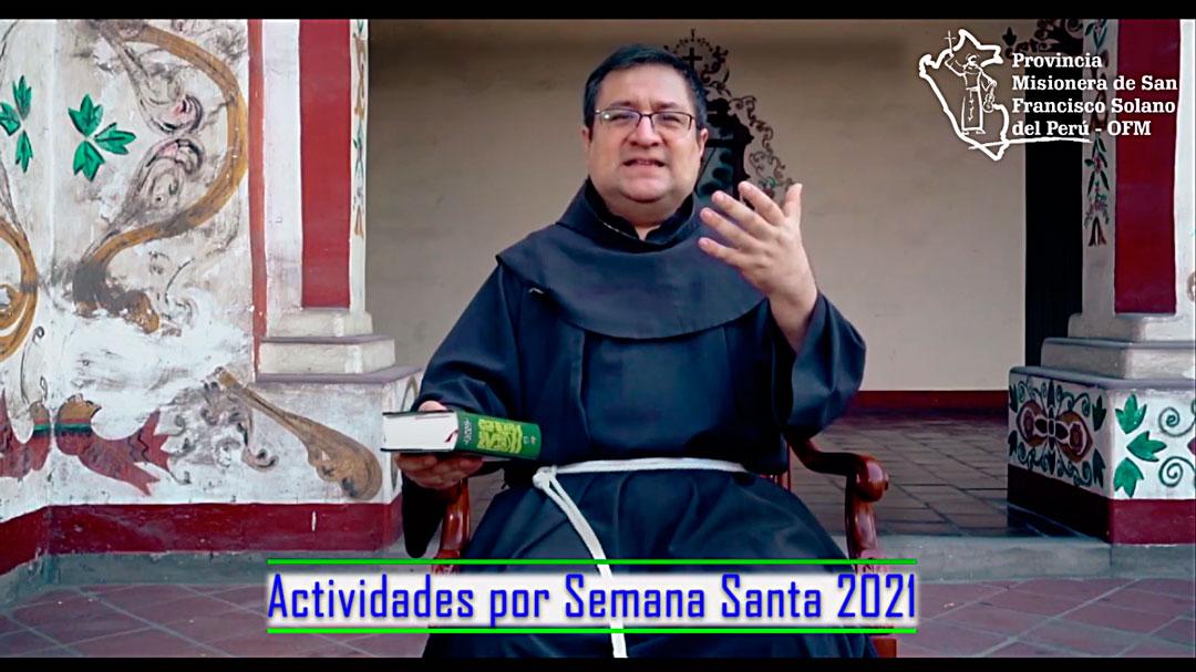 Actividades por Semana Santa 2021