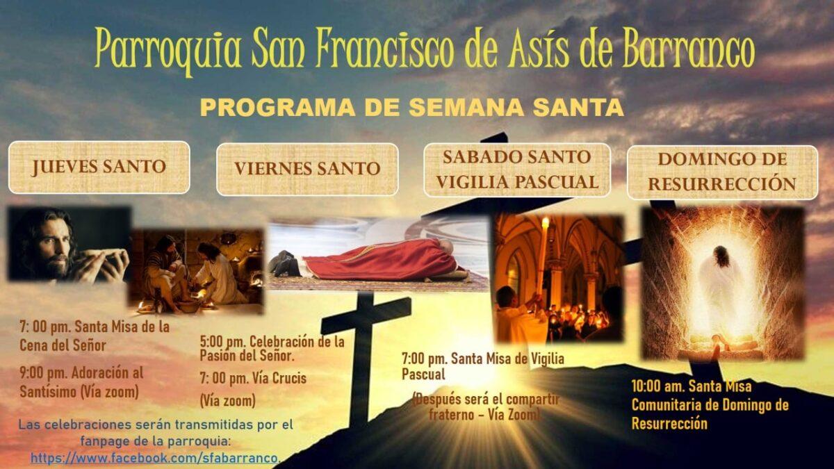 Semana Santa: Parroquia San Francisco de Asís – Barranco