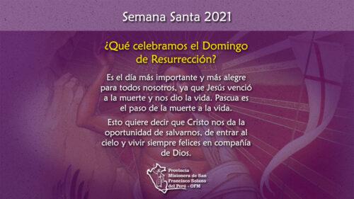 ¿Qué celebramos el Domingo de Resurrección?