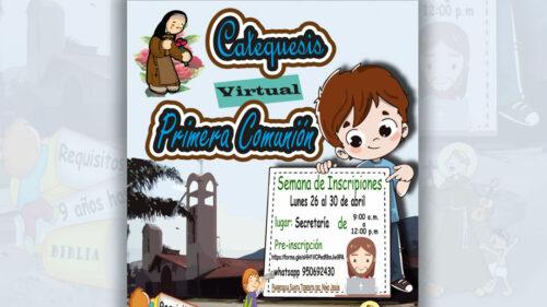 Catequesis Familiar: Parroquia Santa Teresita Tingo María