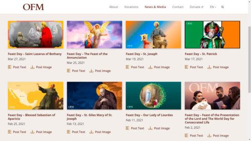 Catálogo de imágenes devocionales gratuito