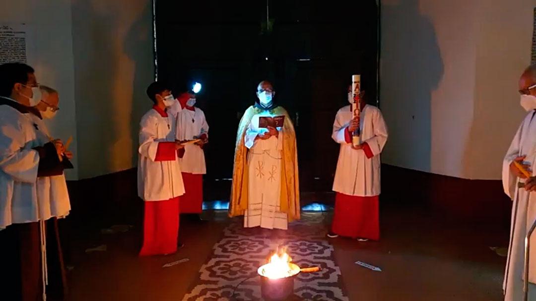 Celebración de la Vigilia Pascual en nuestra Provincia