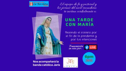 Arequipa: rezo del Santo Rosario