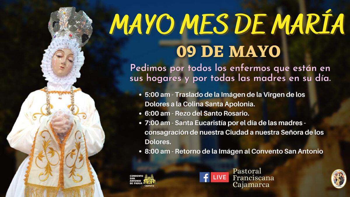 Cajamarca: Mes de Mayo, mes de María